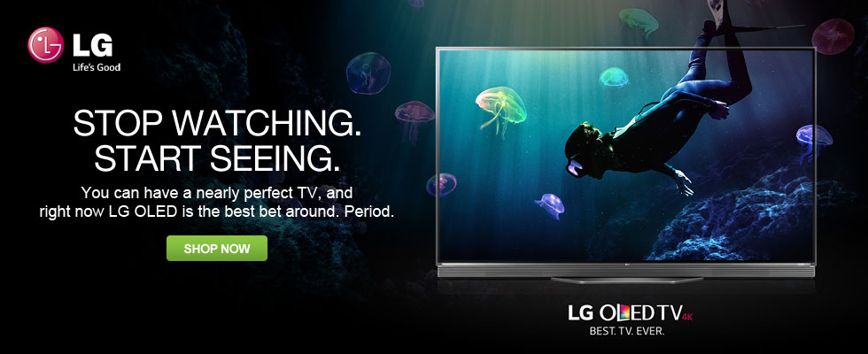 LG OLED TVs - Stop Watching. Start Seeing.