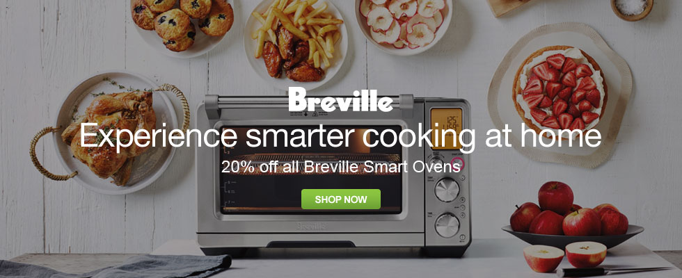 20% Off All Breville Smart Ovens - Experience Smarter Cooking At Home