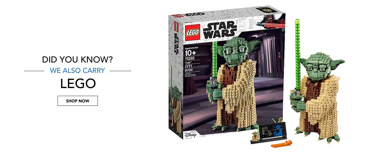 Did You Know? We Also Carry LEGO