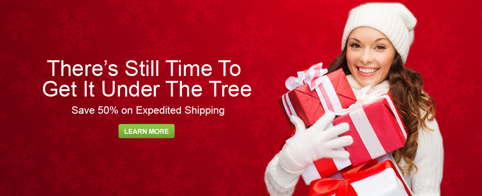 Half Off Expedited Shipping at Abt