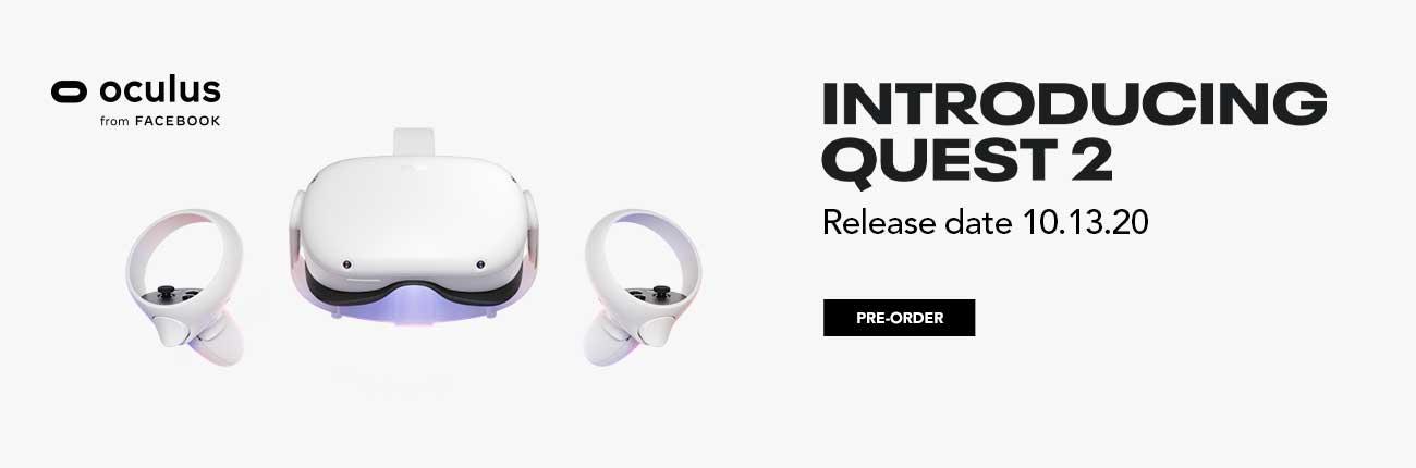 Oculus Quest 2 - Release date 10.13.20