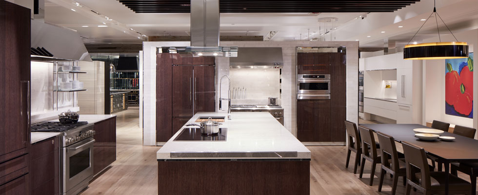 Monogram Appliances in Abt's Inspiration Studio