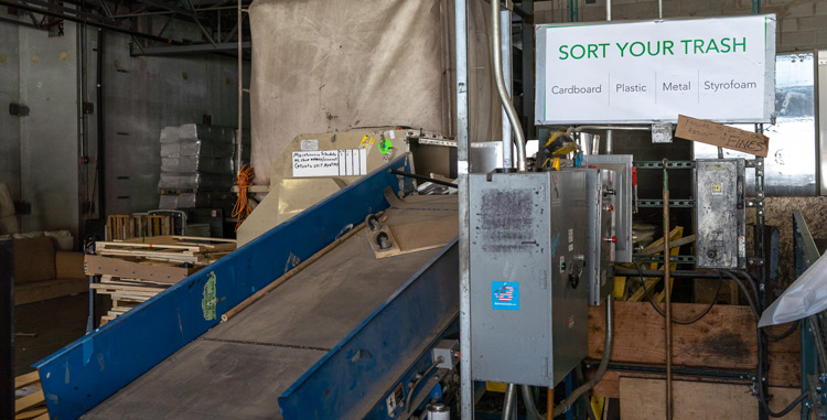 Abt's Recycling Center - Trash / Recycling Sorter
