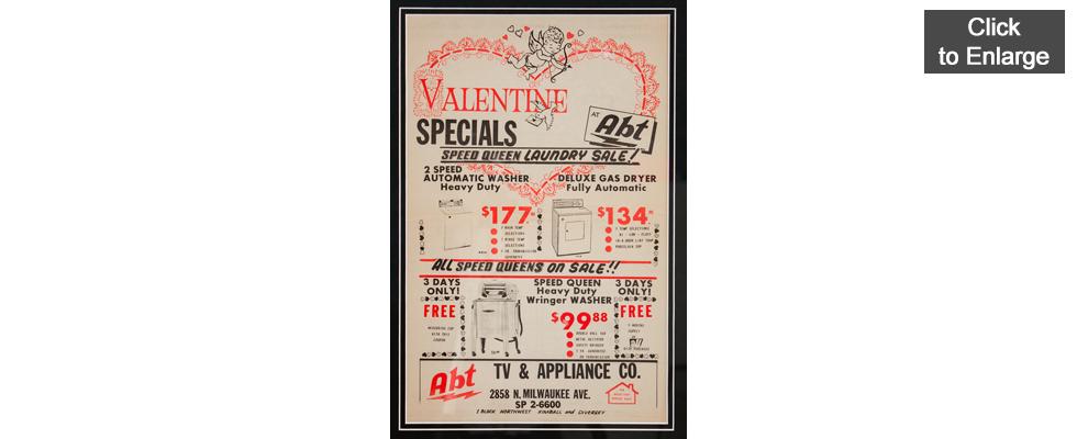 Abt TV & Appliance Co. Newspaper Advertisement - 1950