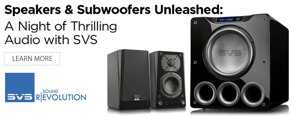 December 6th: Speakers & Subwoofers Unleashed: A Night of Thrilling Audio with SVS