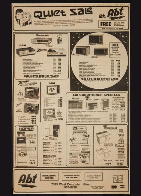 Abt - 1985 - Advertisement