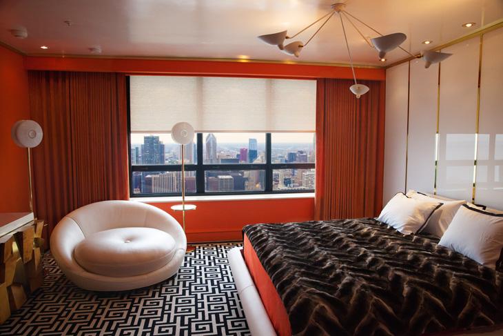Custom A/V Bedroom Shades