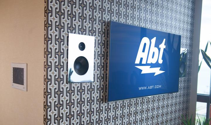 Custom A/V TV and Wall Control