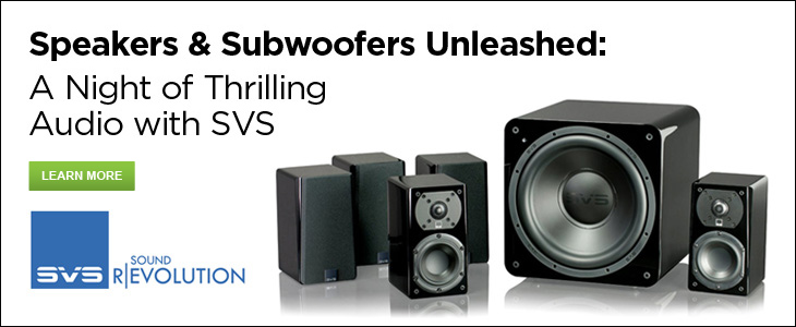 >December 6th: Speakers & Subwoofers Unleashed: A Night of Thrilling Audio with SVS