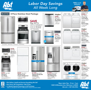Abt's Chicago Sun-Times Ad - Labor Day Savings - Maytag - 09/02
