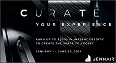 Jenn-Air Curate up to $2000