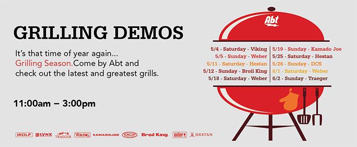 Grill Demos at Abt