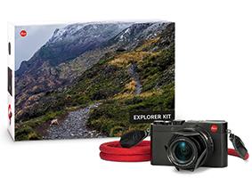 Leica Black D-LUX (Typ 109) Digital Camera Explorer Kit