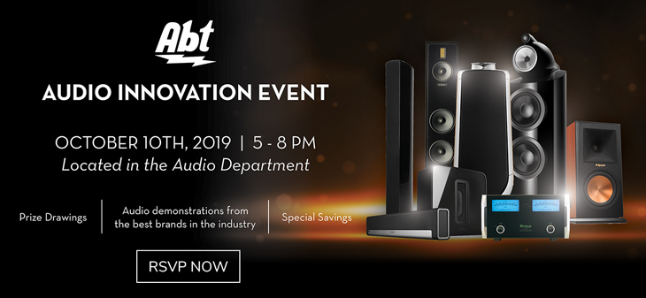 Audio Innovation Event - Ocober 10th, 2019 | 5-8pm - Located in the audio department