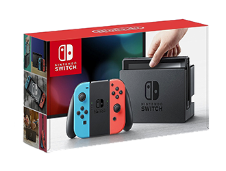 Shop the Nintendo Switch With Neon Blue And Neon Red Joy-Con Gaming Console