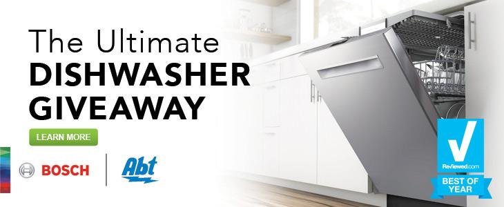 Enter our Bosch Dishwasher Giveaway