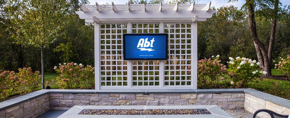 Abt Custom Audio Video - TV Outdoor Patio