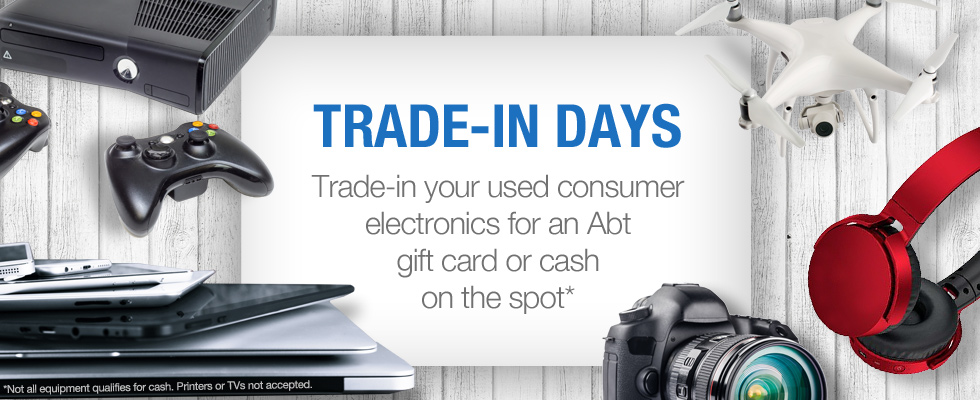 Cash For Gear - Trade-In Your Old Consumer Electronics