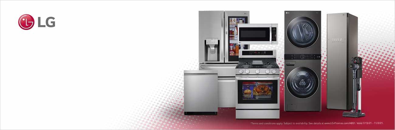 Assortment of LG Appliances