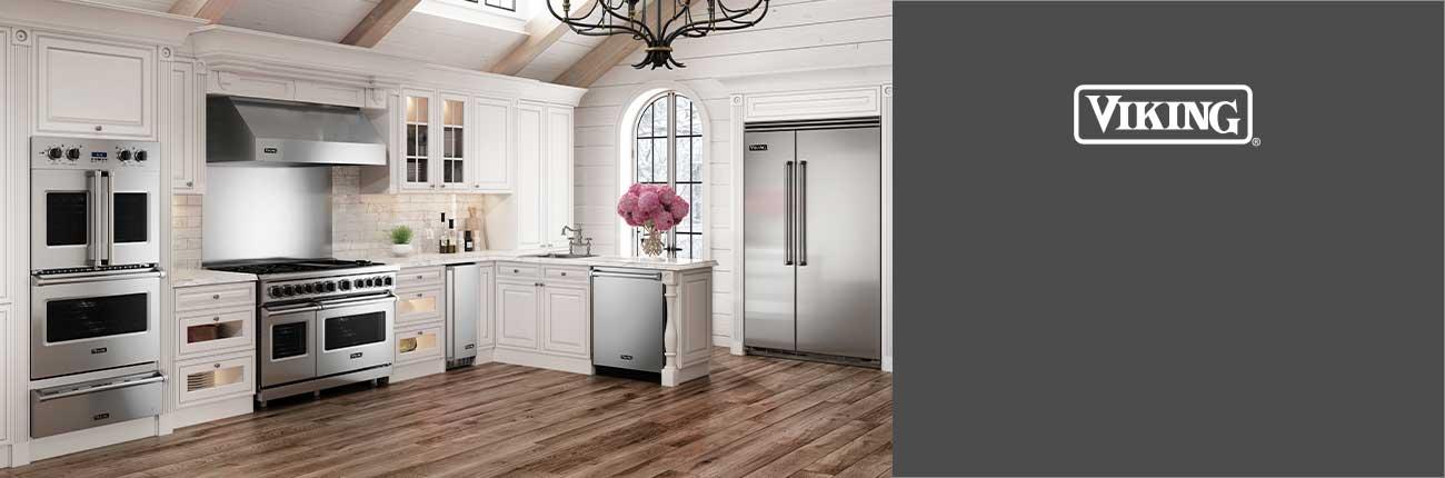 Lifestyle of kitchen with Viking Appliances