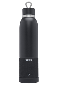 iHome iBTB2 Midnight Aquio Double Wall Insulated Bottle + Waterproof Bluetooth Speaker - IBTB2BBC