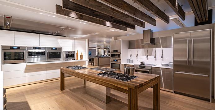 View the Inspiration Studio Bosch Kitchen