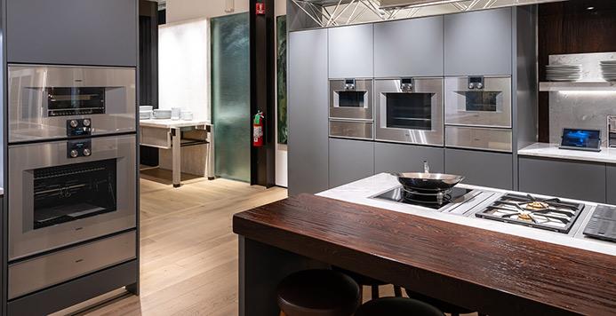 View the Inspiration Studio Gaggenau Kitchen
