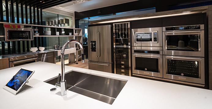 View the Inspiration Studio KitchenAid Kitchen