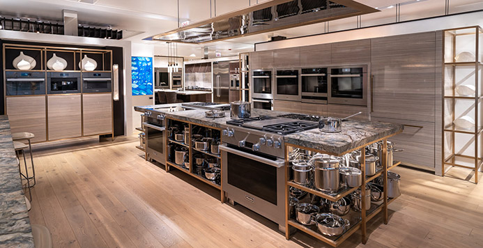 View the Inspiration Studio Miele Kitchen