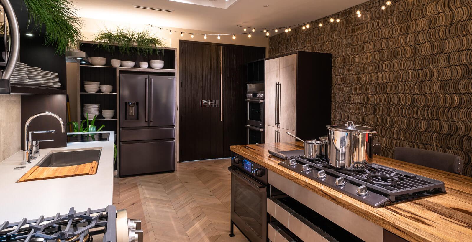 View the Inspiration Studio Samsung Kitchen