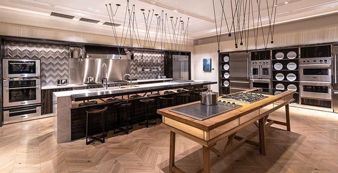View the Inspiration Studio Viking Kitchen