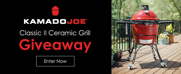 Kamado Joe Classic II Ceramic Grill Giveaway