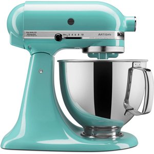 KitchenAid Artisan Aqua Sky Stand Mixer - KSM150PSAQ