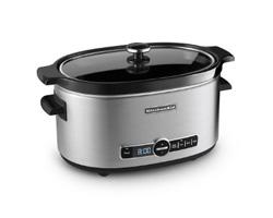 KitchenAid 6 Quart Stainless Steel Slow Cooker - KSC6223SS