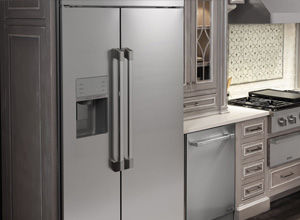Viking Built In Side By Side Refrigerators