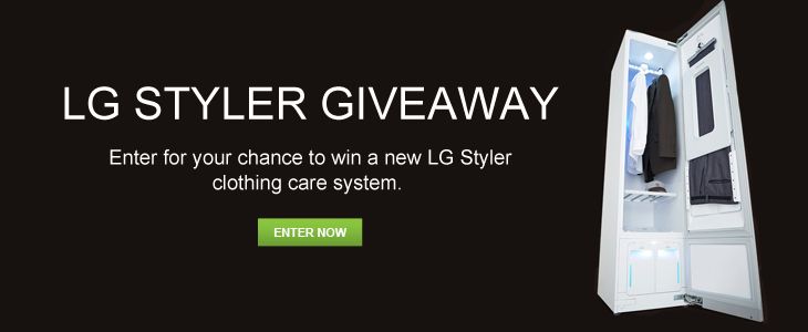 LG Styler Giveaway