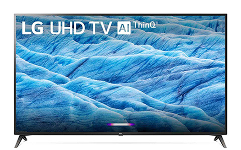 Shop this LG 70 inch 4K HDR Smart TV With AI ThinQ