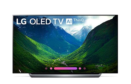 LG 55 Inch 4K HDR Smart AI OLED TV With ThinQ - OLED55C8PUA