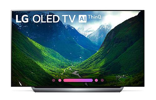 LG 65 Inch 4K HDR Smart AI OLED TV With ThinQ - OLED65C8PUA