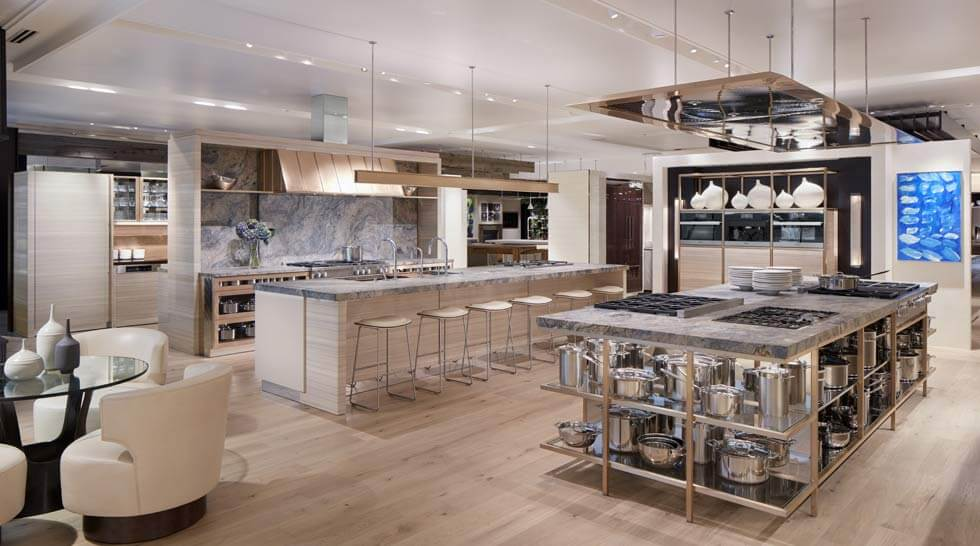 Inspiration studio at abt for High end kitchen stores