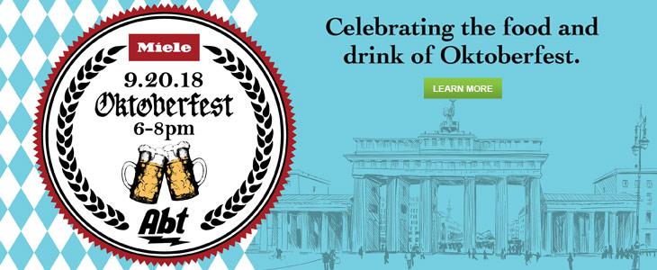September 20th: Miele Oktoberfest Cooking Event