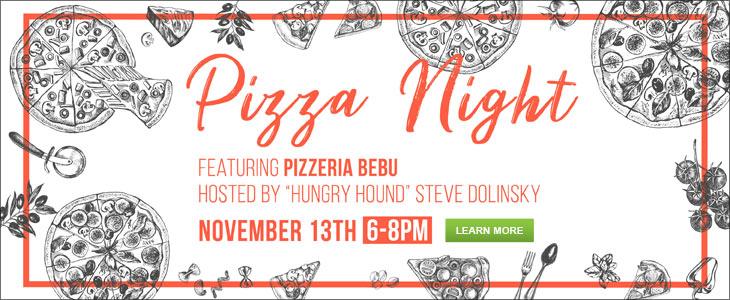 November 13th: Pizza Night