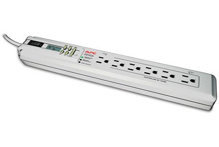APC Power-Saving SurgeArrest 6 Outlet Surge Protector - P6GC