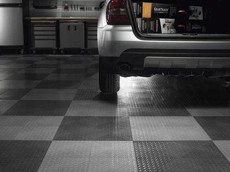 GLADIATOR Garageworks Silver Tile Flooring 48-Pack