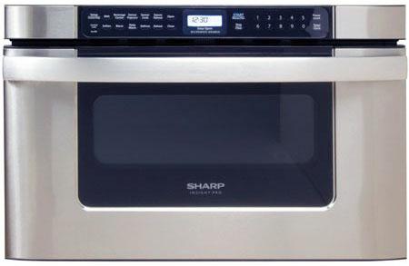 "Sharp 24"" KB6524 Stainless Steel Microwave Drawer"