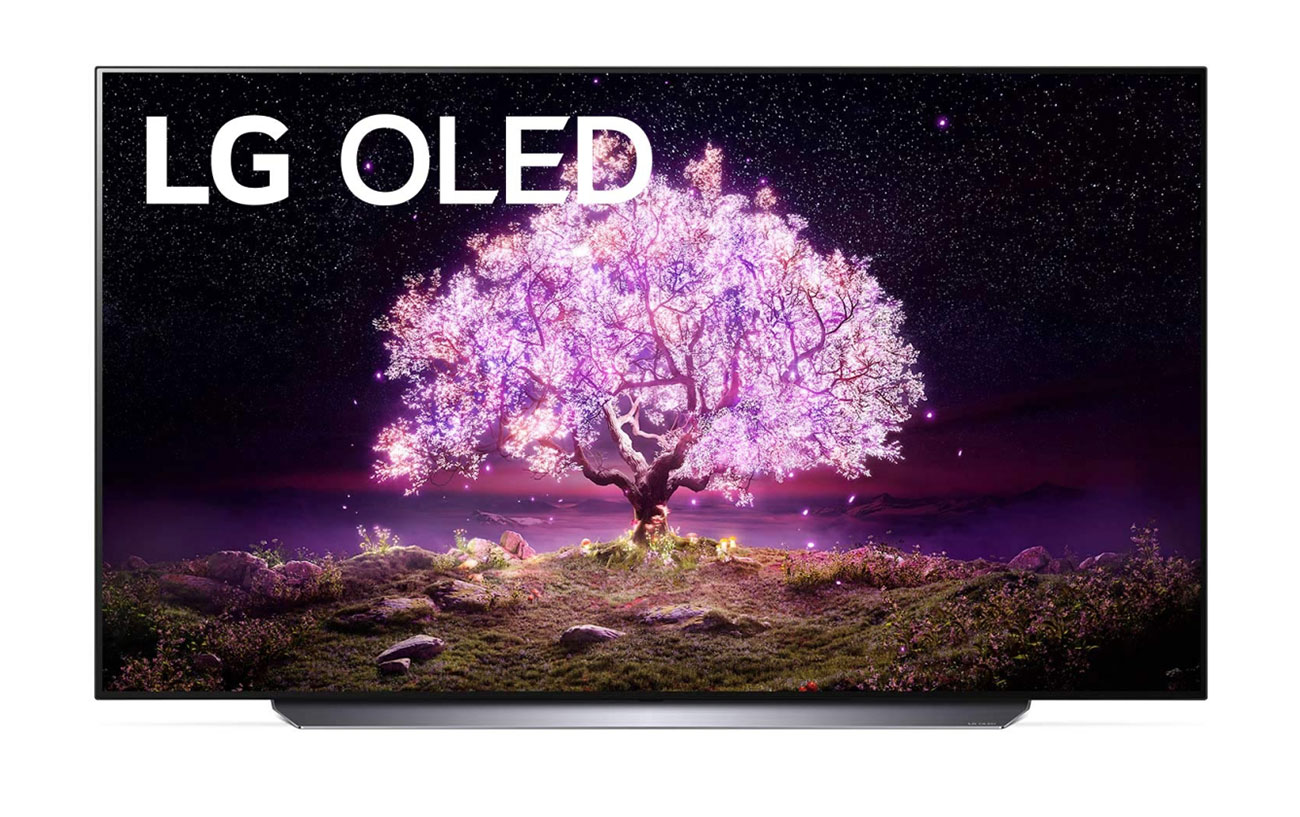 LG 55 C1 4K HDR Smart OLED TV With AI ThinQ