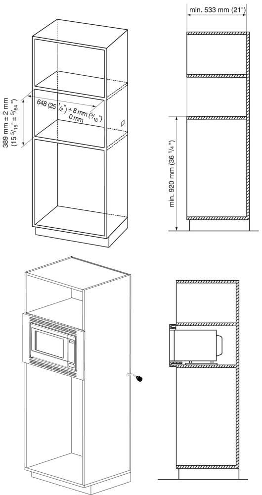 NNTK621 - Cutout Dimensions