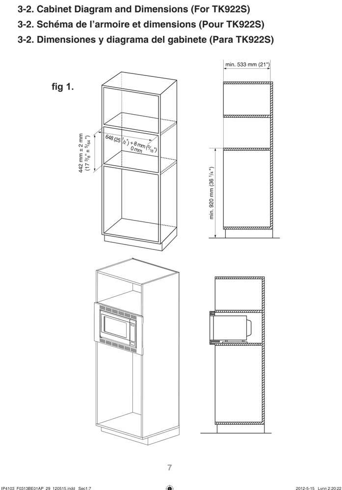 Panasonic 27 U0026quot  Stainless Steel Microwave Trim Kit