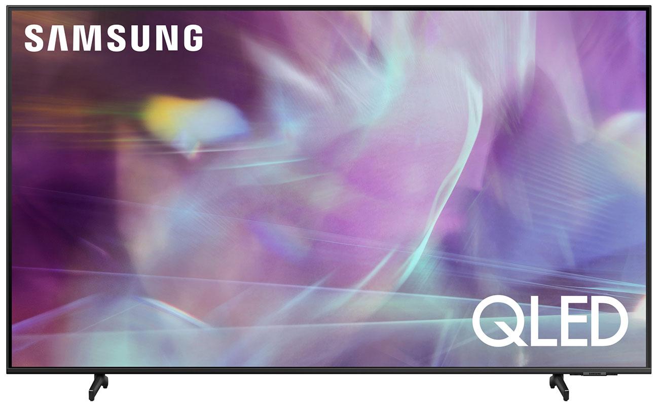 Samsung 65 Inch Q60A Black QLED 4K UHD Smart TV 2021 QN65Q60AAFXZA