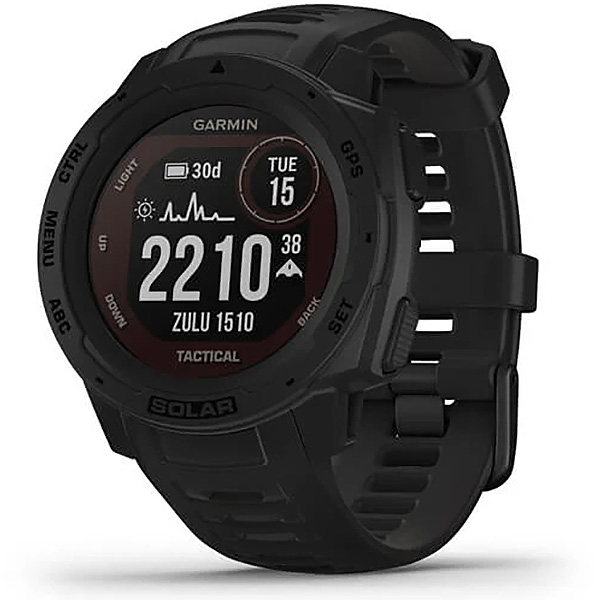 Garmin Instinct Solar Black Tactical Edition GPS Watch 010-02293-13